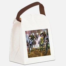 Motocross Arena Canvas Lunch Bag