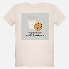 Milk and Cookie Valentine T-Shirt
