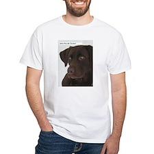 Cute Chocolate lab Shirt