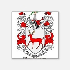 """Cute Family crests coat of arms Square Sticker 3"""" x 3"""""""