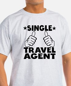 Funny travel agent t shirts shirts tees custom funny for Custom single t shirts