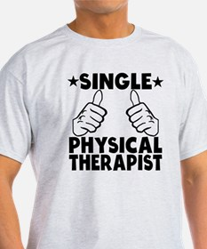 Single Physical Therapist T-Shirt