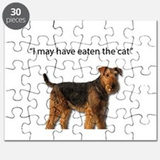 Airedale Just ate the cat Puzzle