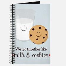 Milk and Cookie Valentine Journal