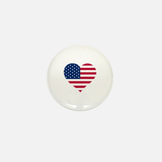 Unique Stars and stripes Mini Button