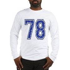 78 Jersey Year Long Sleeve T-Shirt