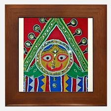 krishna Framed Tile