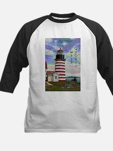 West Quoddy Head Lighthouse Baseball Jersey