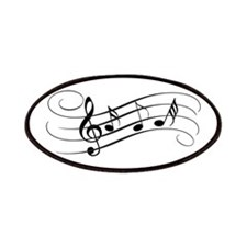 Musical Notes Patch