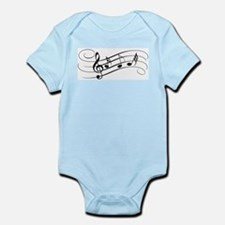 Musical Notes Body Suit