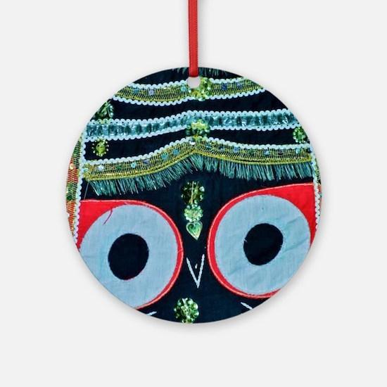 krishna Round Ornament