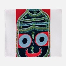 krishna Throw Blanket