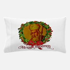 Saint Nicholas - Merry Christmas Pillow Case