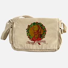 Saint Nicholas - Merry Christmas Messenger Bag
