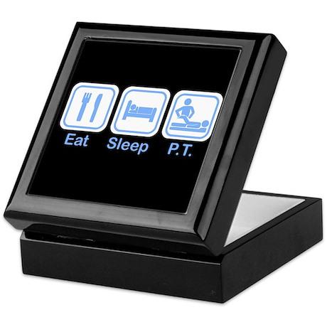 Eat, Sleep, PT Keepsake Box