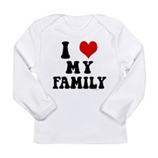 I love my two moms Long Sleeve Infant T-Shirt