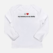 Unique I love my papa Long Sleeve Infant T-Shirt