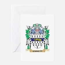 Garrett Coat of Arms (Family Crest) Greeting Cards