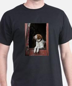 Unique American brittany T-Shirt