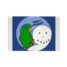 Funny Parrot lovers Rectangle Magnet