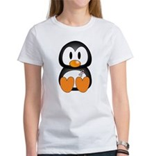 Breast Cancer Penguin Tee