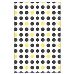 Mod Black Polka Dots Large Poster