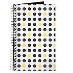 Mod Black Polka Dots Journal