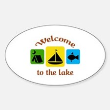 Welcome To The Lake Decal