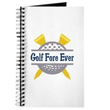 Golf Fore Ever Journal