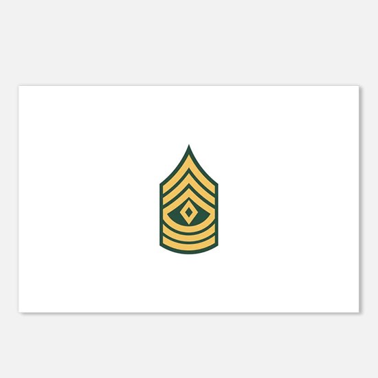 1st Sergeant Postcards (Package of 8)