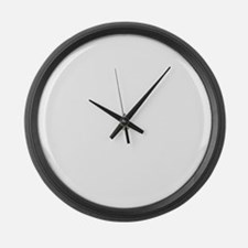1st Sergeant Large Wall Clock