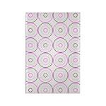 Pink & Black Retro Rectangle Magnet (10 pack)