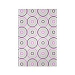 Pink & Black Retro Rectangle Magnet (100 pack)