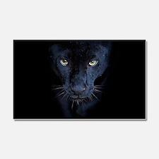 Black Panther Car Magnet 20 x 12
