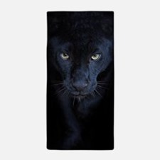 Black Panther Beach Towel