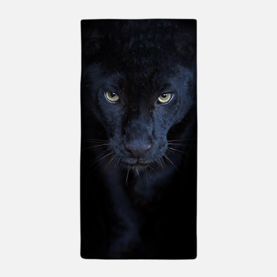 Black Panther Beach Towel