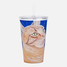Regal Cat Acrylic Double-wall Tumbler