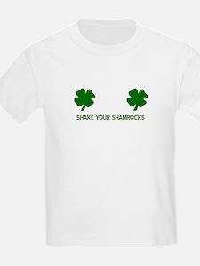 SHAKEyOURsHAMROCKS copy T-Shirt