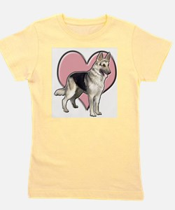 Funny Dad valentine Girl's Tee