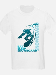 Cool Snowboarding T-Shirt