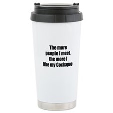 Cool Cockapoo Travel Mug