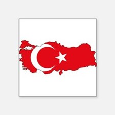 Turkish Flag Silhouette Sticker
