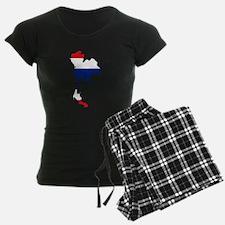 Thai Flag Silhouette Pajamas