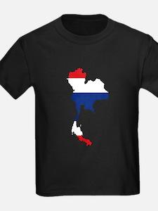 Thai Flag Silhouette T-Shirt