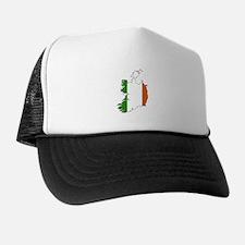 Irish Flag Silhouette Trucker Hat