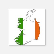 Irish Flag Silhouette Sticker
