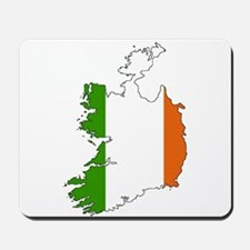 Irish Flag Silhouette Mousepad