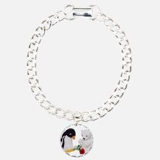 Penguin Polar Bear Rose Bracelet
