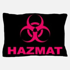 Geeky Pink Hazmat Pillow Case