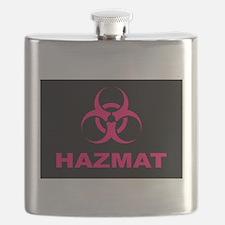 Geeky Pink Hazmat Flask